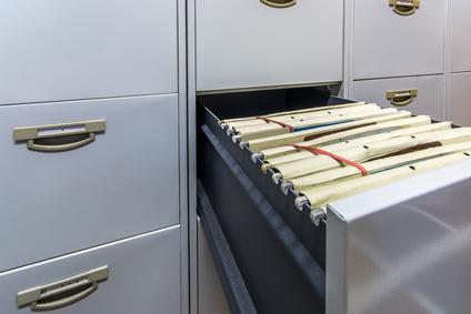 Unterlagen Schrank Aufbewahrung