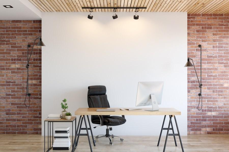 Schreibtisch Büroraum