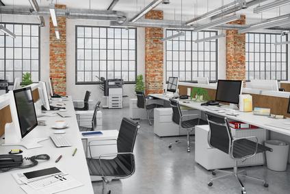Großraumbüro Perspektive