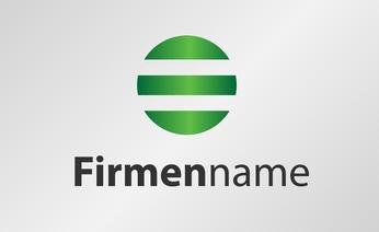 Firmenname Beispielgrafik mit Logo