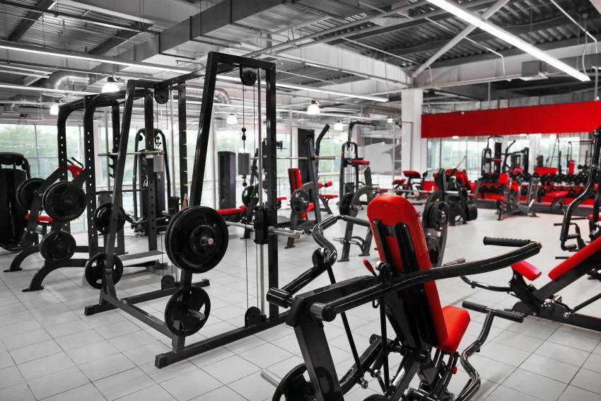 Ausstattung Fitnessstudio