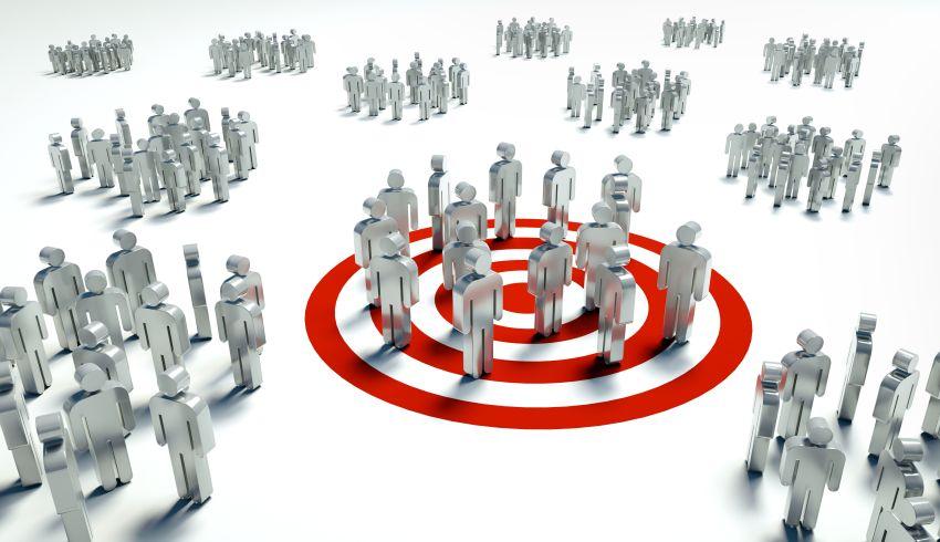 Zielgruppe ausgewählt im Radius