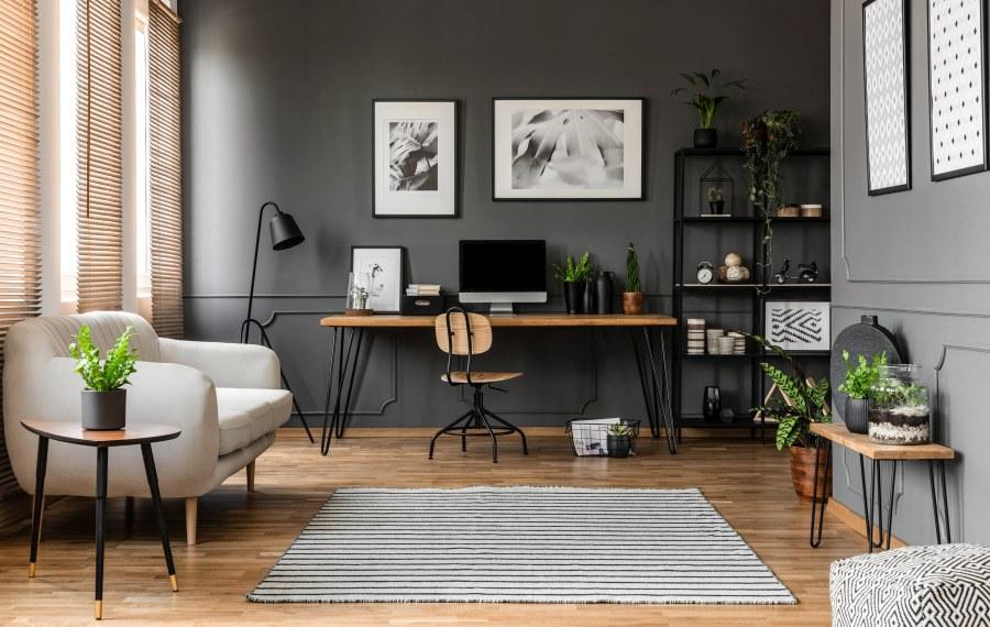 Arbeitszimmer in Wohnung