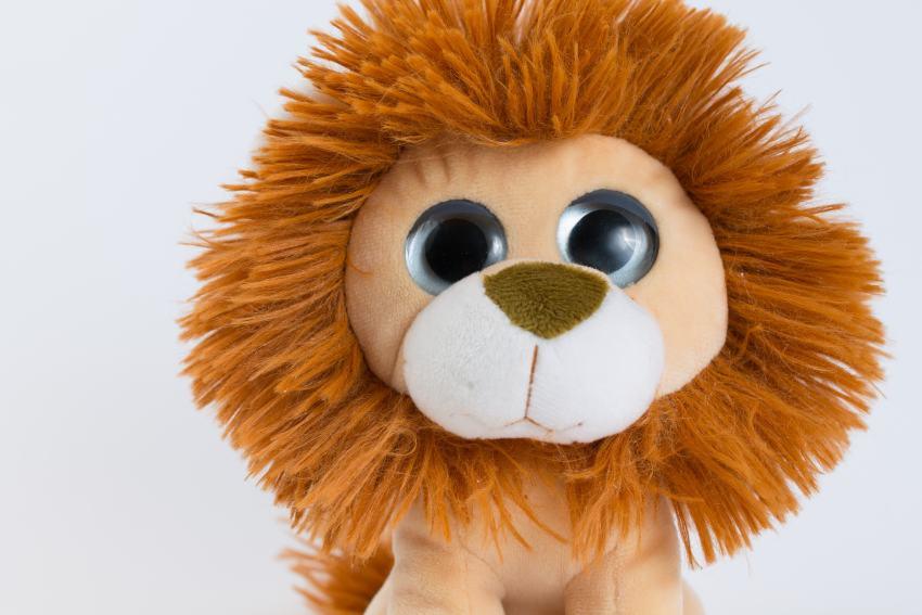 Kuscheltier Löwe