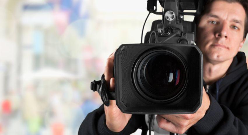 Kameramann frontal