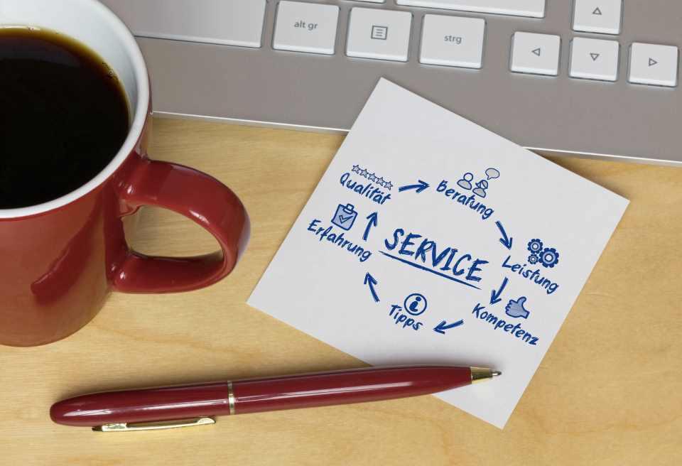 Marketing Planung Stift und Zettel