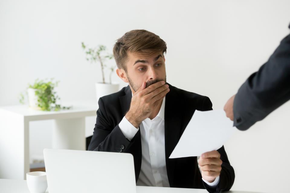 Mitarbeiter erhält schriftliche Abmahnung