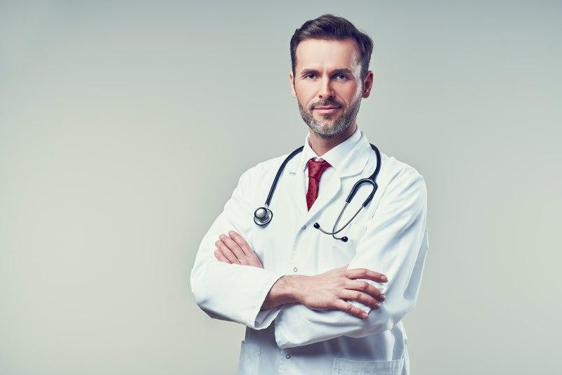 Arzt Portrait