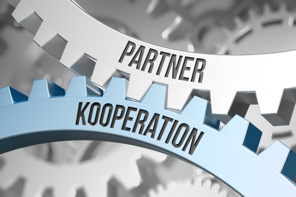 Partner Kooperation Zahnräder