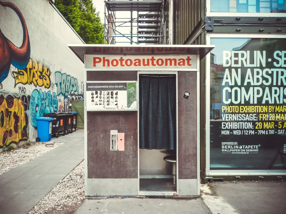 Fotobox in Berlin