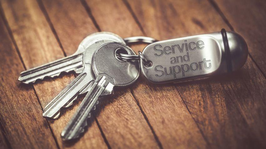 Schlüsselanhänger Service