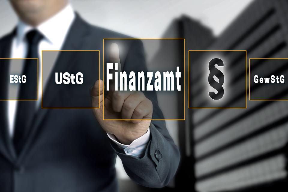 Umsatzsteuernummer Finanzamt Touchscreen