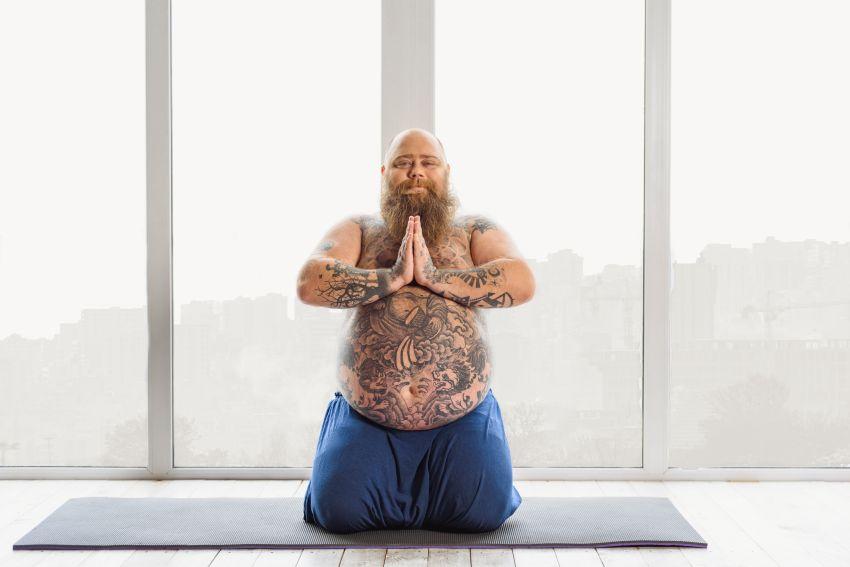 Yogalehrer lustig