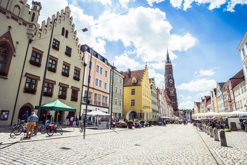 Fußgängerzone Landshut