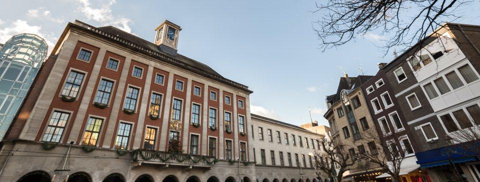 Rathaus der Stadt Neuss