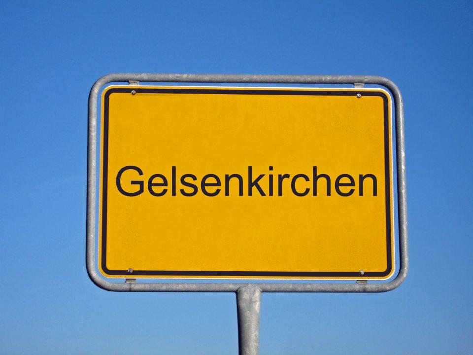 Stadtschild Gelsenkirchen