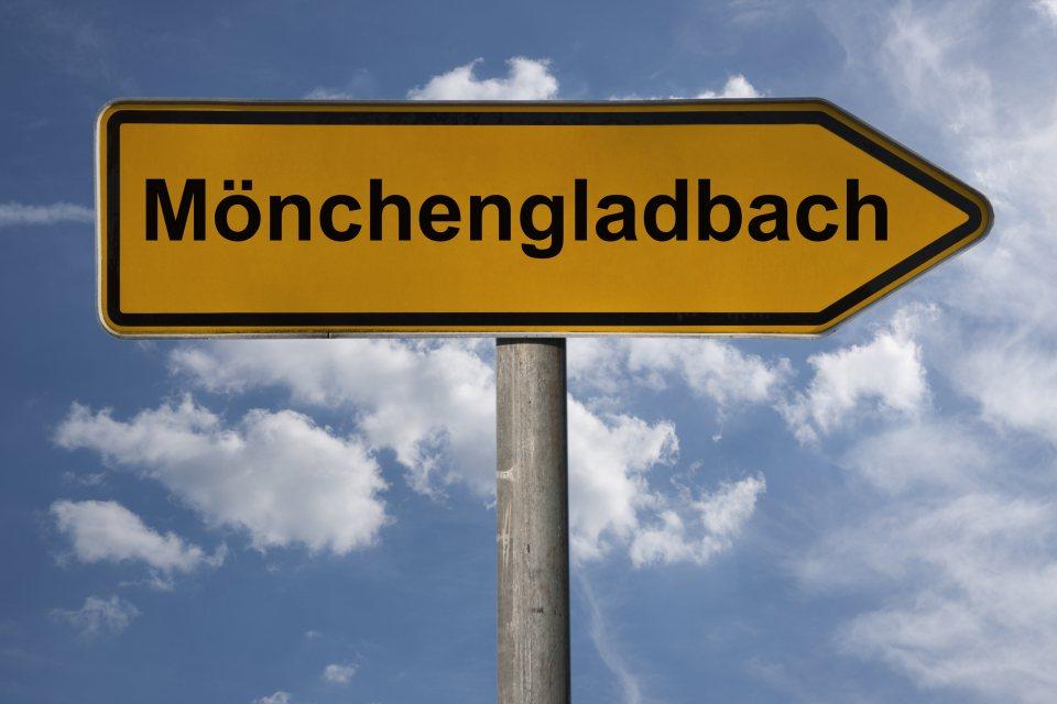 Straßenschild Mönchengladbach